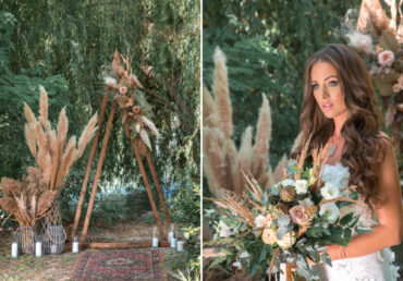 Vadregényesen romantikus – inspiráció egy forró, nyári esküvőhöz